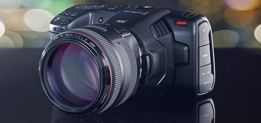 Blackmagic Pocket Cinema Camera 6K. (Blackmagic Design)