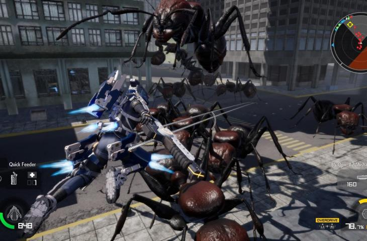 Earth Defense Force: Iron Rain. (Steam)