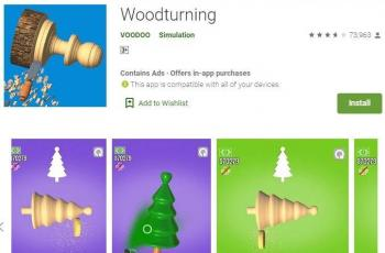 Game Woodturning. (Play Store)