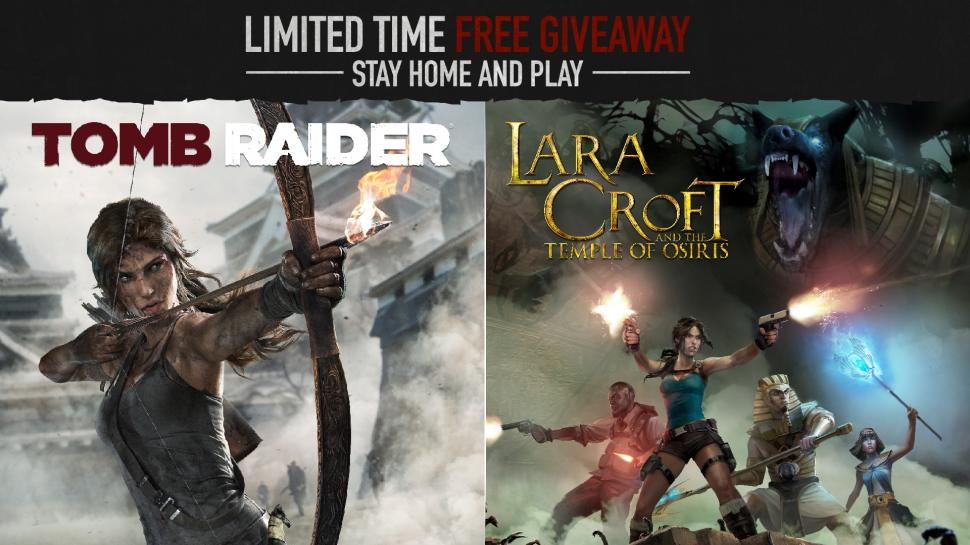 Tomb Raider dan Lara Croft and the Temple of Osiris digratiskan. (Steam).