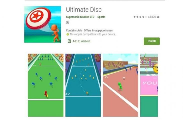Game Ultimate Disk. (Play Store)