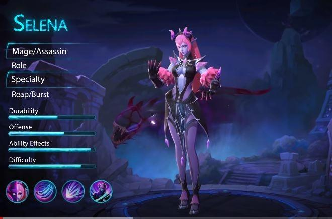 Hero Selena Mobile Legends. (YouTube/ Mobile Legends Bang Bang)