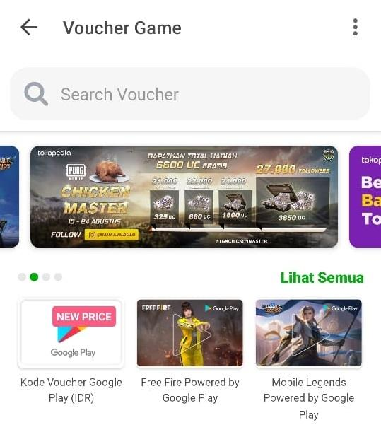 Cara beli diamond Mobile Legends dari Tokopedia. (HiTekno)