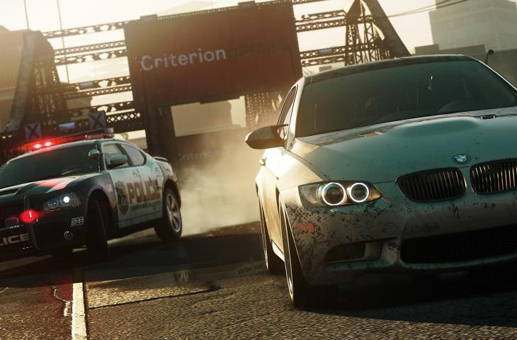 Need For Speed Most Wanted . (EA)