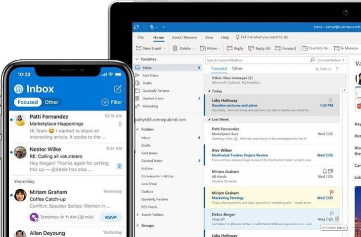 Microsoft Outlook. (Microsoft)